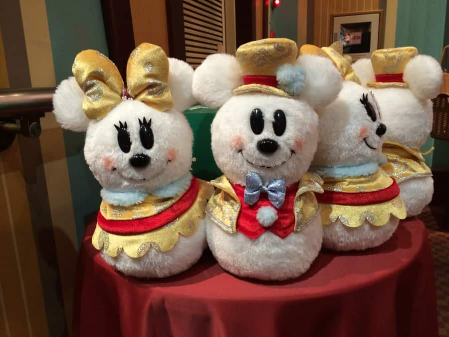 Our favourite Christmas Merchandise at Tokyo Disney Resort