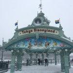 Tokyo Disney Resort Snow Entrance