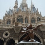 Sorcerer Mickey and Cinderella's Castle