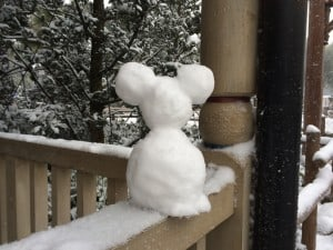 Another Snowman Mickey