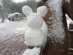 Snowman Mickey