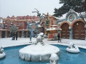 Roger Rabbit Covered in Snow