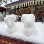Mickey and Minnie Snowmen