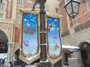 30th Anniversary Banners in a Blanket of Snow