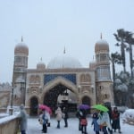 Arabian Coast Covered in Snow
