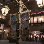 Tokyo DisneySea 30th Anniversary Banners Covered in Snow