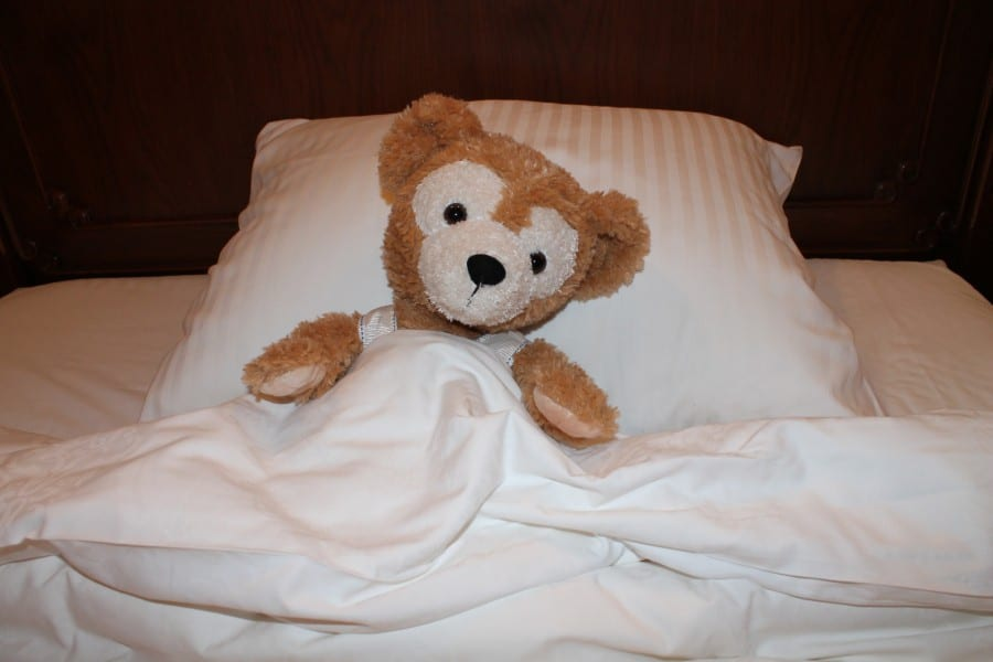 "Say ""goodnight,"" Duffy!"