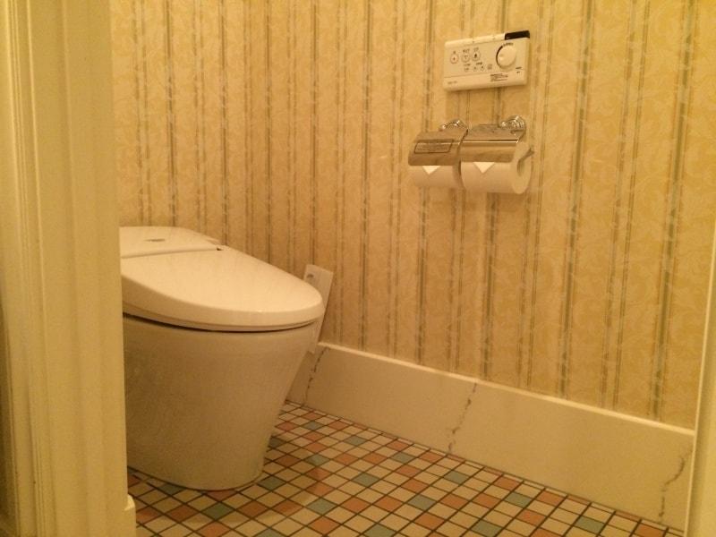 Toilet in the Tokyo Disneyland Hotel Room