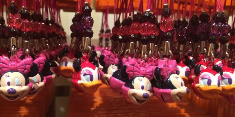 Vampire Daisy and Minnie Keychains