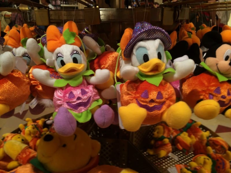 Daisy and Donald Pumpkin Plush