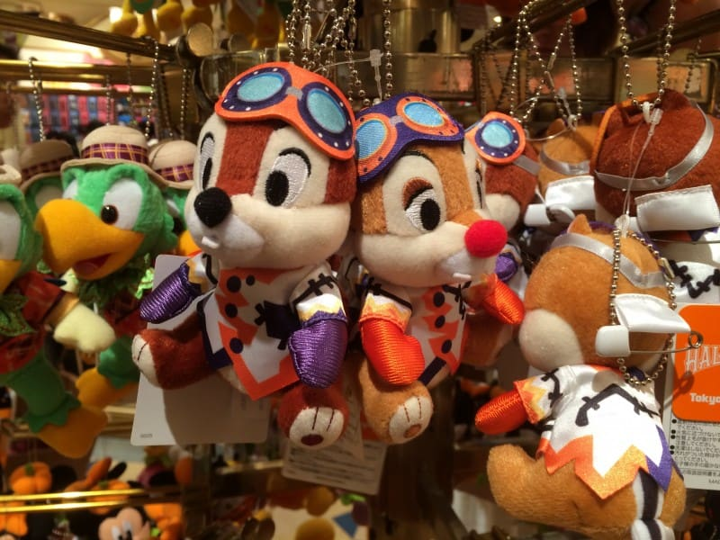 Chip N Dale Plushes from Happy Halloween Harvest Parade