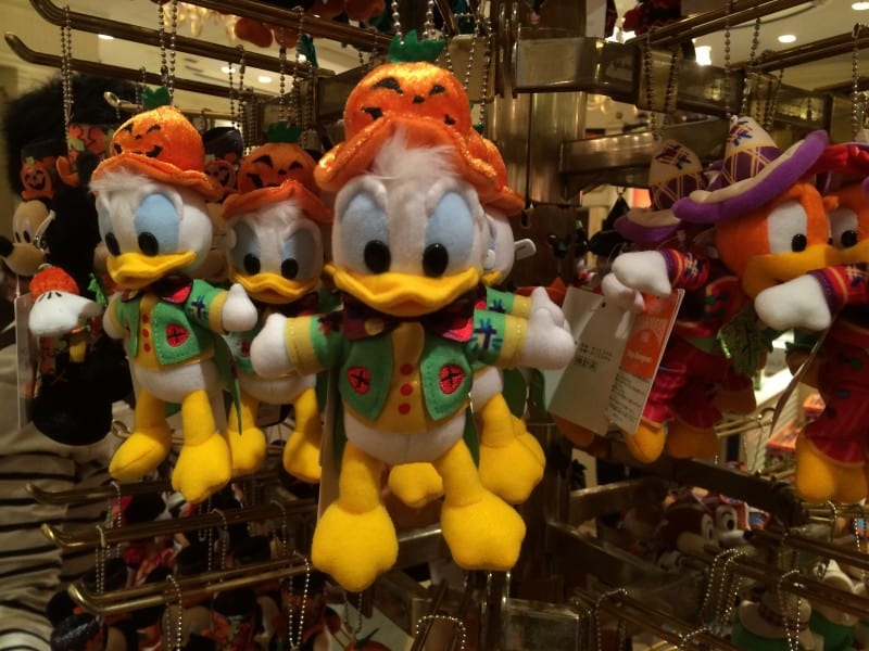 Donald Duck Plush from Happy Halloween Harvest Parade