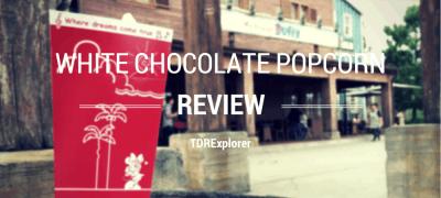 White Chocolate Popcorn Review