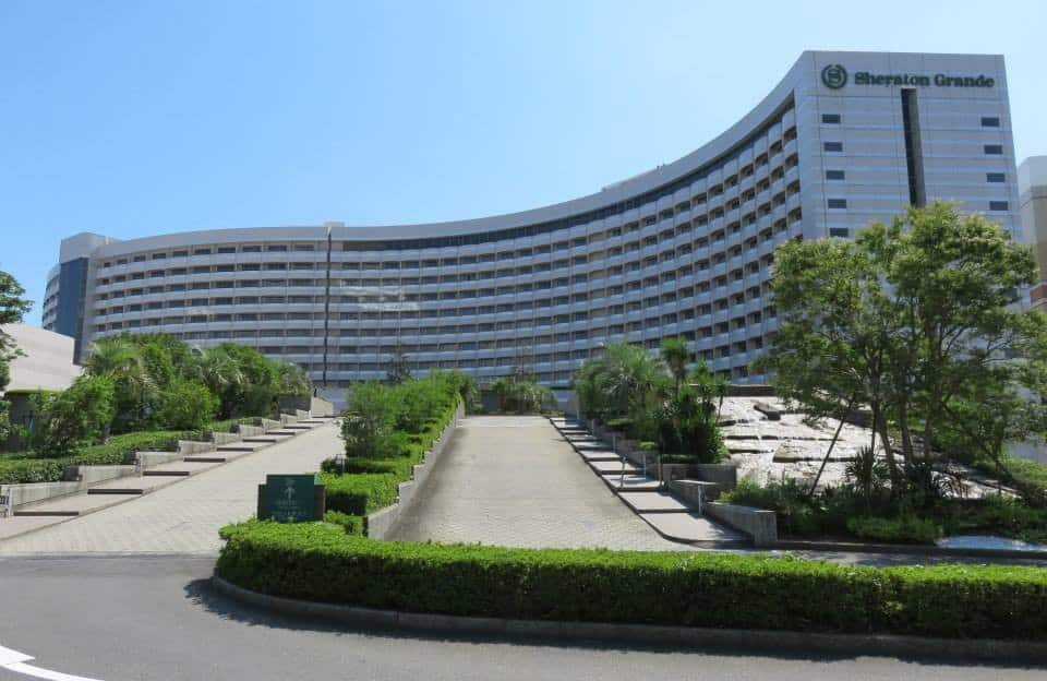Sheraton Grande Tokyo Bay Hotel Review