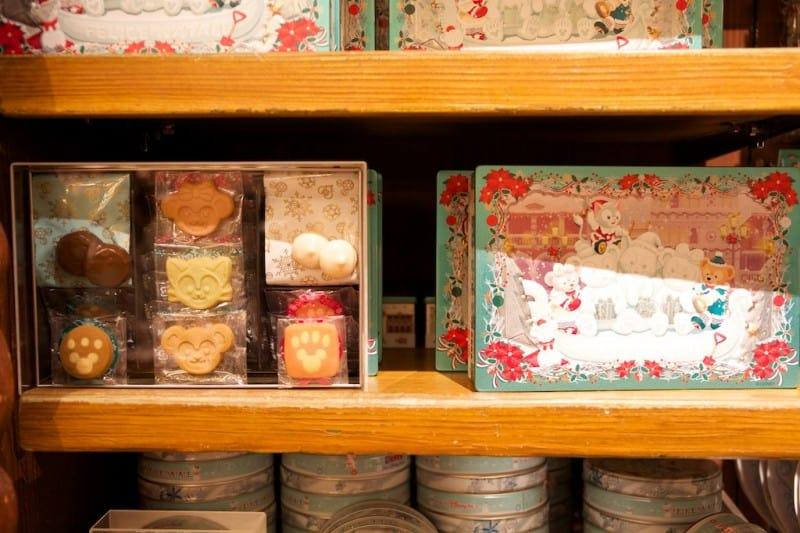Duffy Cookies Christmas 2014 Omiyage