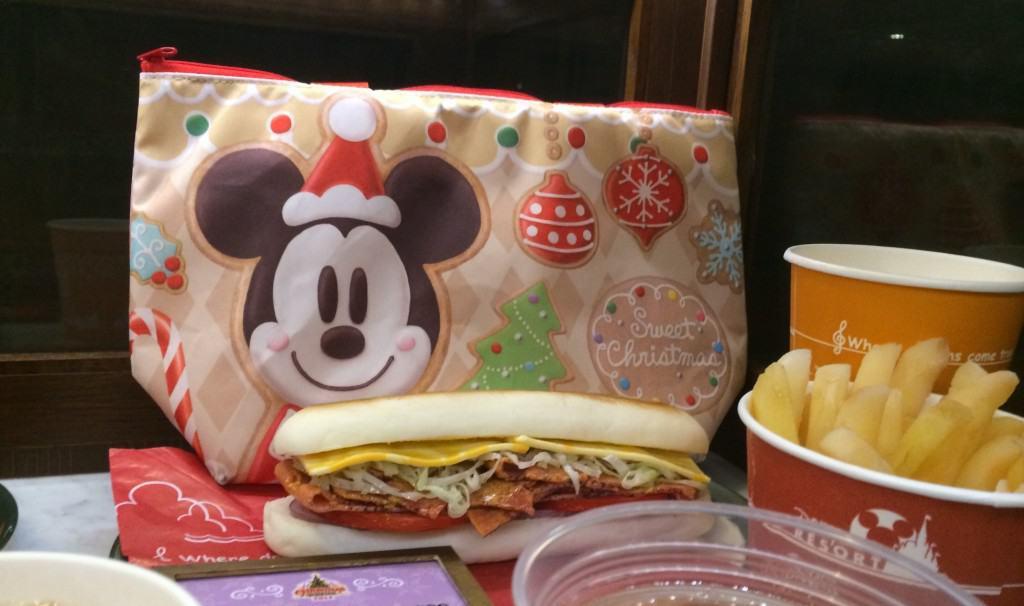 Turkey and Pastrami Panini at Tokyo DisneySea