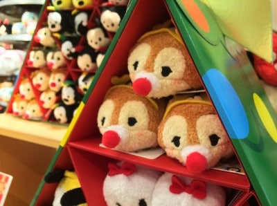 Christmas Tsum Tsum Now Available at Japan Disney Stores