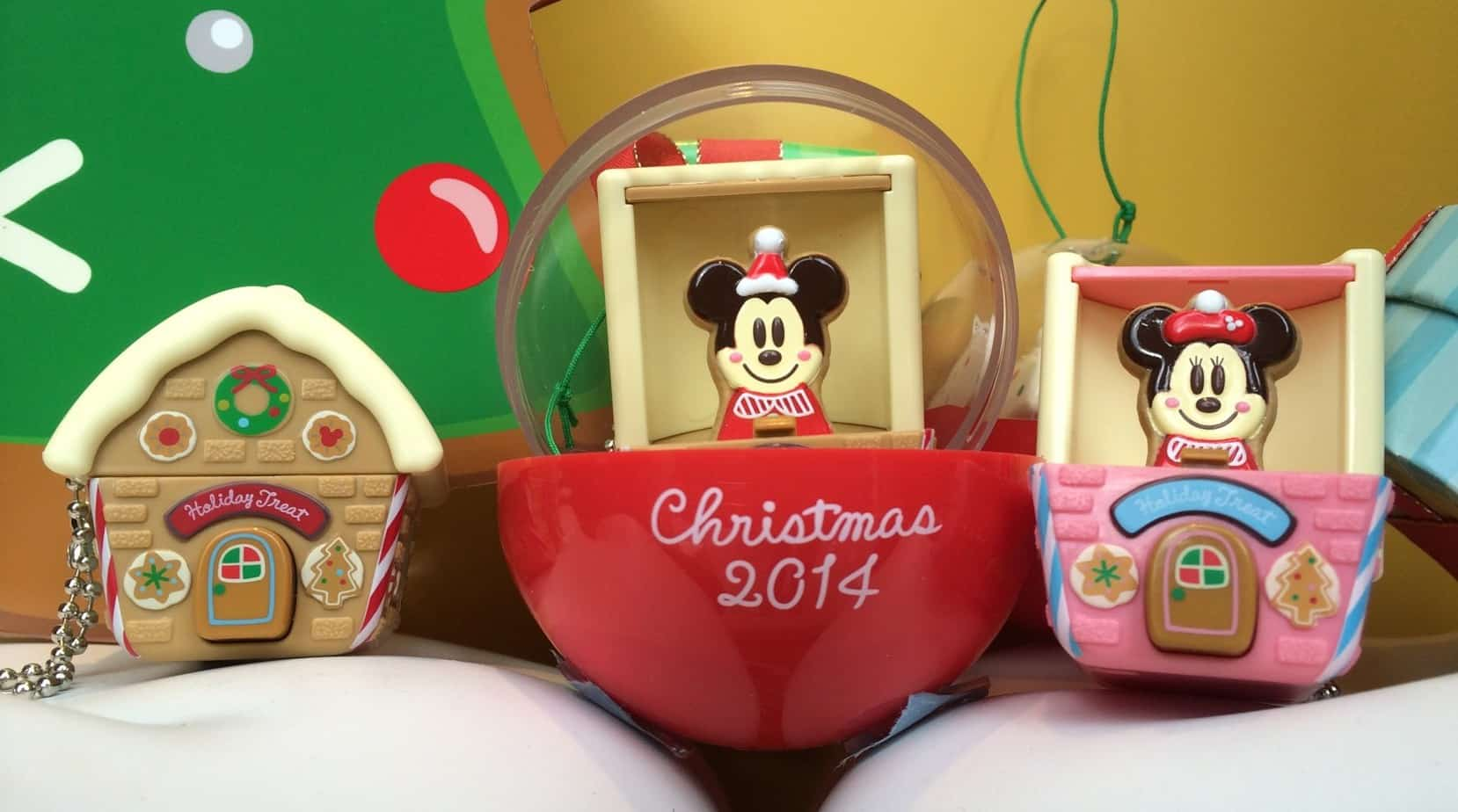 Christmas 2014 Gachapon Toys