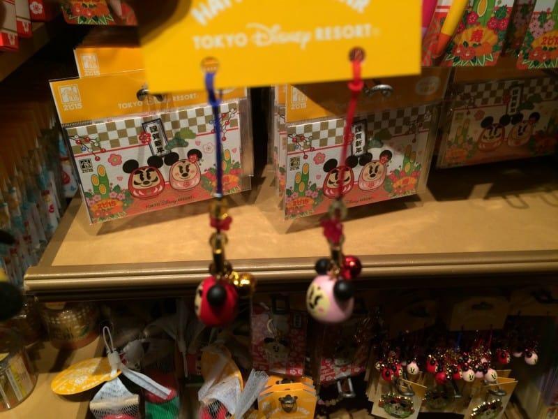 Mickey and Minnie Phone Straps New Years 2015 Tokyo Disney Resort