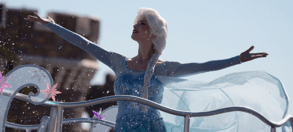 Anna and Elsa's Frozen Fantasy Greeting