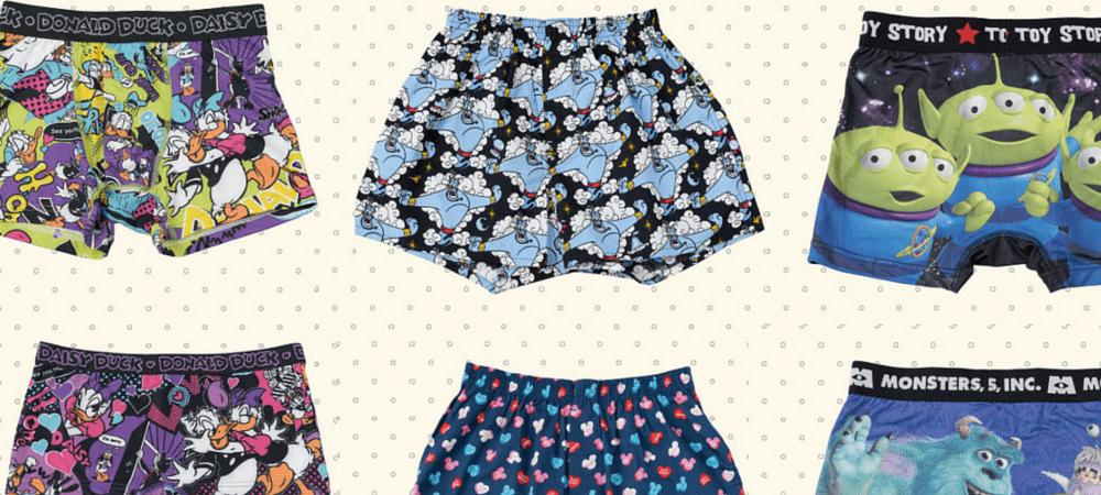 New Adorable Disney Underwear at Tokyo Disney Resort