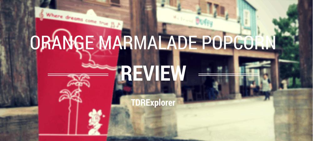 Orange Marmalade Popcorn Review
