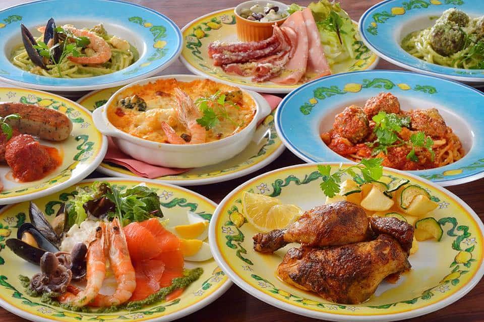 Cafe Portofino Updated Menu at Tokyo DisneySea