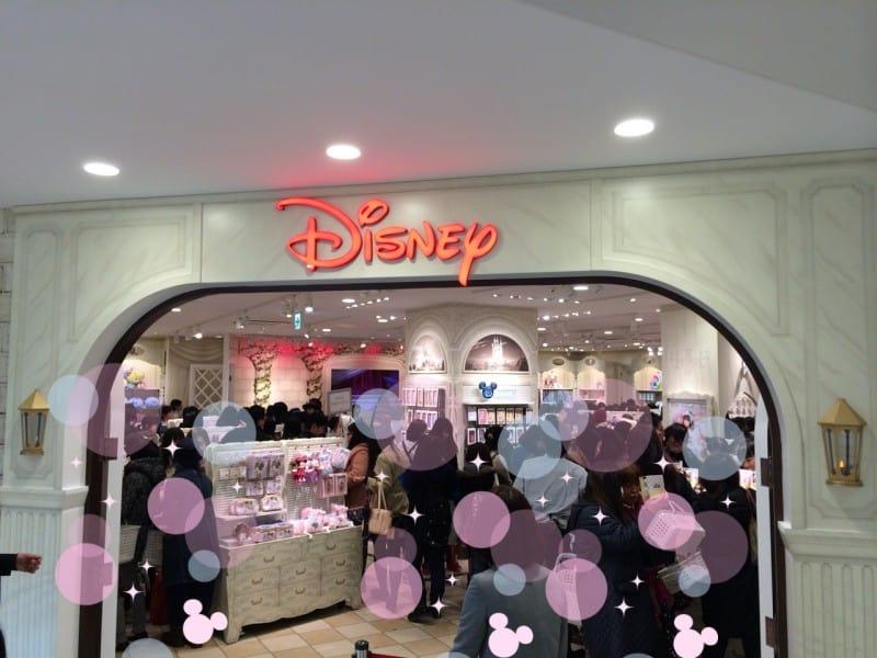 Entrance Harajuku Disney Store TDRExplorer