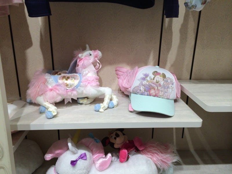 Harajuku Disney Store Daisy Minnie Unicorn Merchandise TDRExplorer