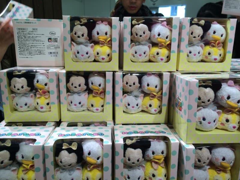 Limited Grand Open Harajuku Tsum Tsum Harajuku Disney Store TDRExplorer