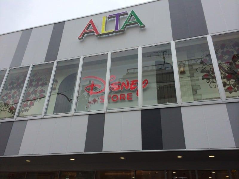 Outisde ALTA Harajuku Disney Store TDRExplorer