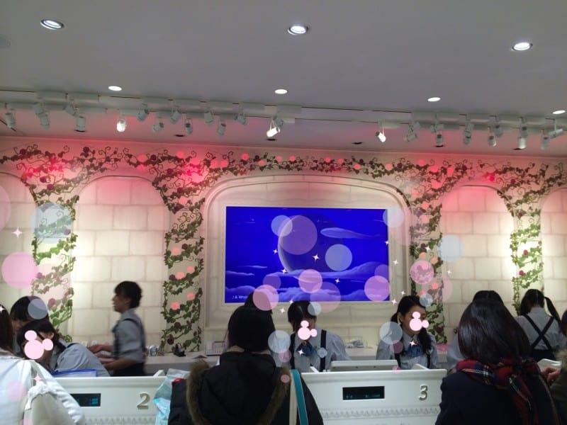 Registers Harajuku Disney Store TDRExplorer