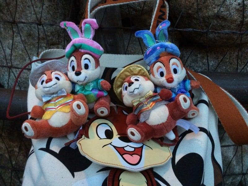 Tokyo Disney Resort Dedicated Fans Chip N Dale