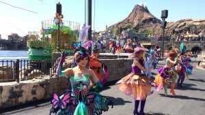 Fashionable Easter at Tokyo DisneySea Dancer All Costume Exchange