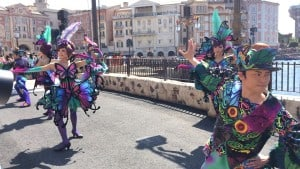 Fashionable Easter at Tokyo DisneySea Lost River Delta Dancers Upclose