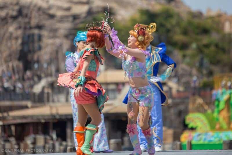 Fashionable Easter Tokyo DisneySea Mysterious Island Mermaid Lagoon Costume Swap
