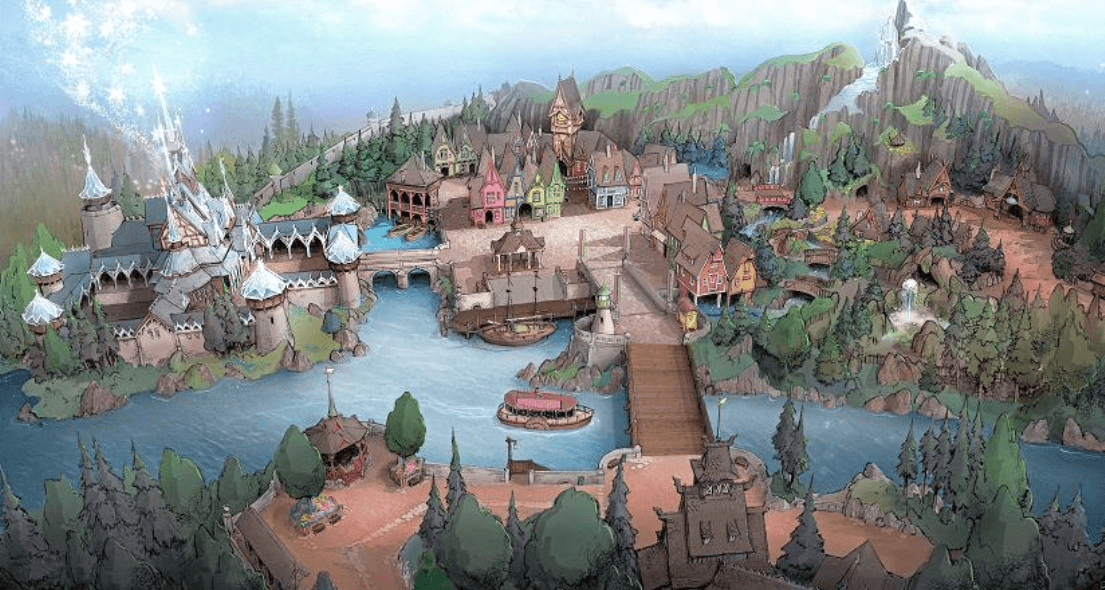 Tokyo Disney Resort Multi-Billion Yen Expansion with Frozen Port, Alice in Wonderland, Beauty & the Beast, and New Fantasyland