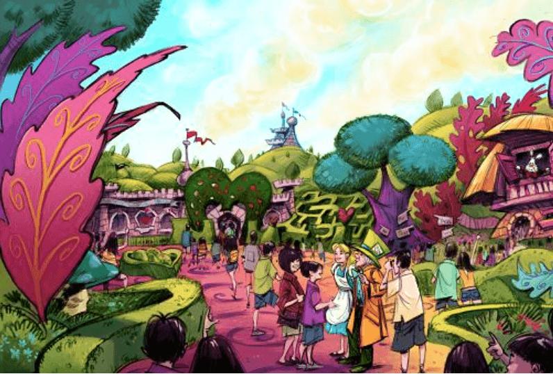 Tokyo Disneyland Alice in Wonderland Expansion