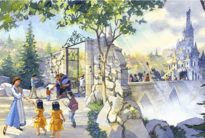 Tokyo Disneyland Beauty and the Beast Expansion