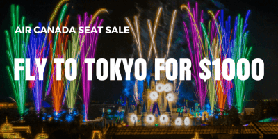 Fly to Tokyo for $1000 with Air Canada (Limited Seat Sale)
