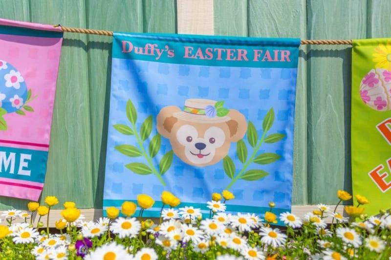 Duffy's Easter Fair Banners at Tokyo DisneySea