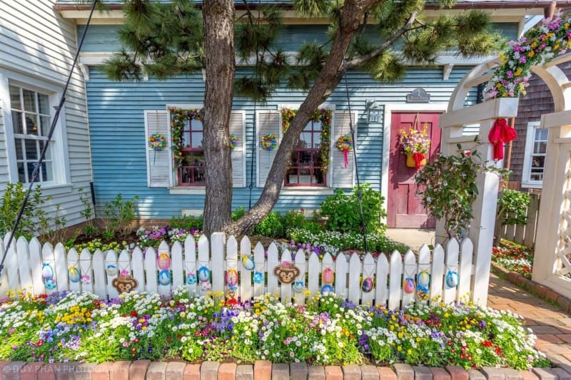 Beautifully decorated house in Cape Cod at Tokyo DisneySea
