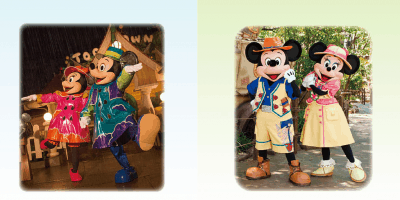 New Mickey and Friends Plush (Rainy Days & Greeting Trails)