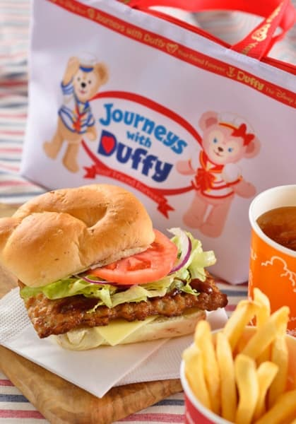 Set includes  Pork Rib Sandwich with BBQ Sauce  French Fries Soft Drink