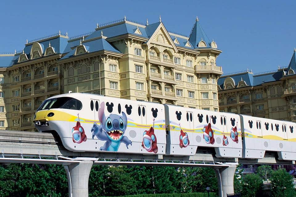 Stitch Monorail Coming to Tokyo Disney Resort in June 2015