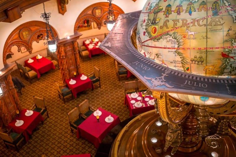Dining Room Top View Magellans Review Tokyo DisneySea