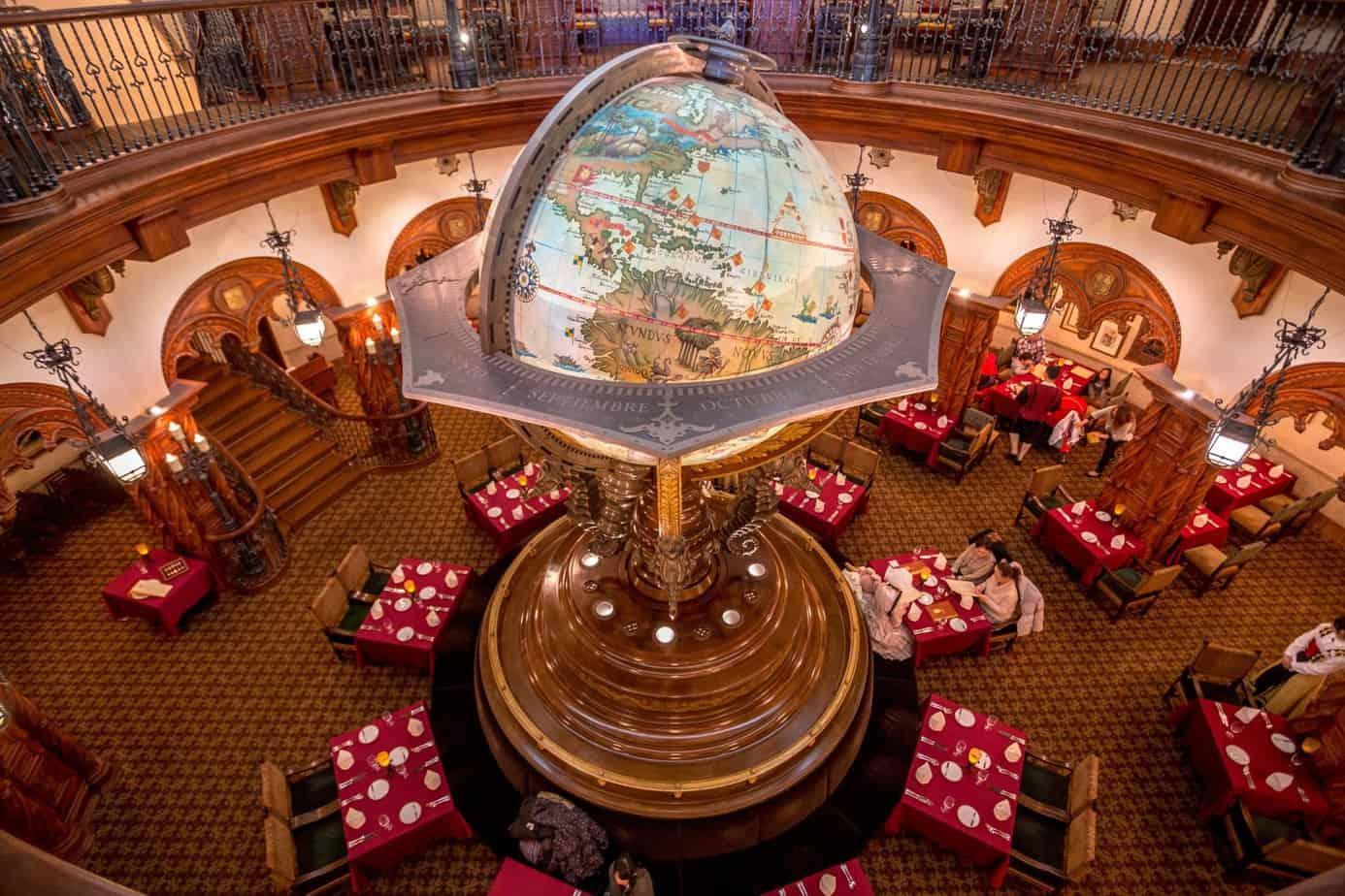 Globe Center Piece Magellans Review Tokyo DisneySea