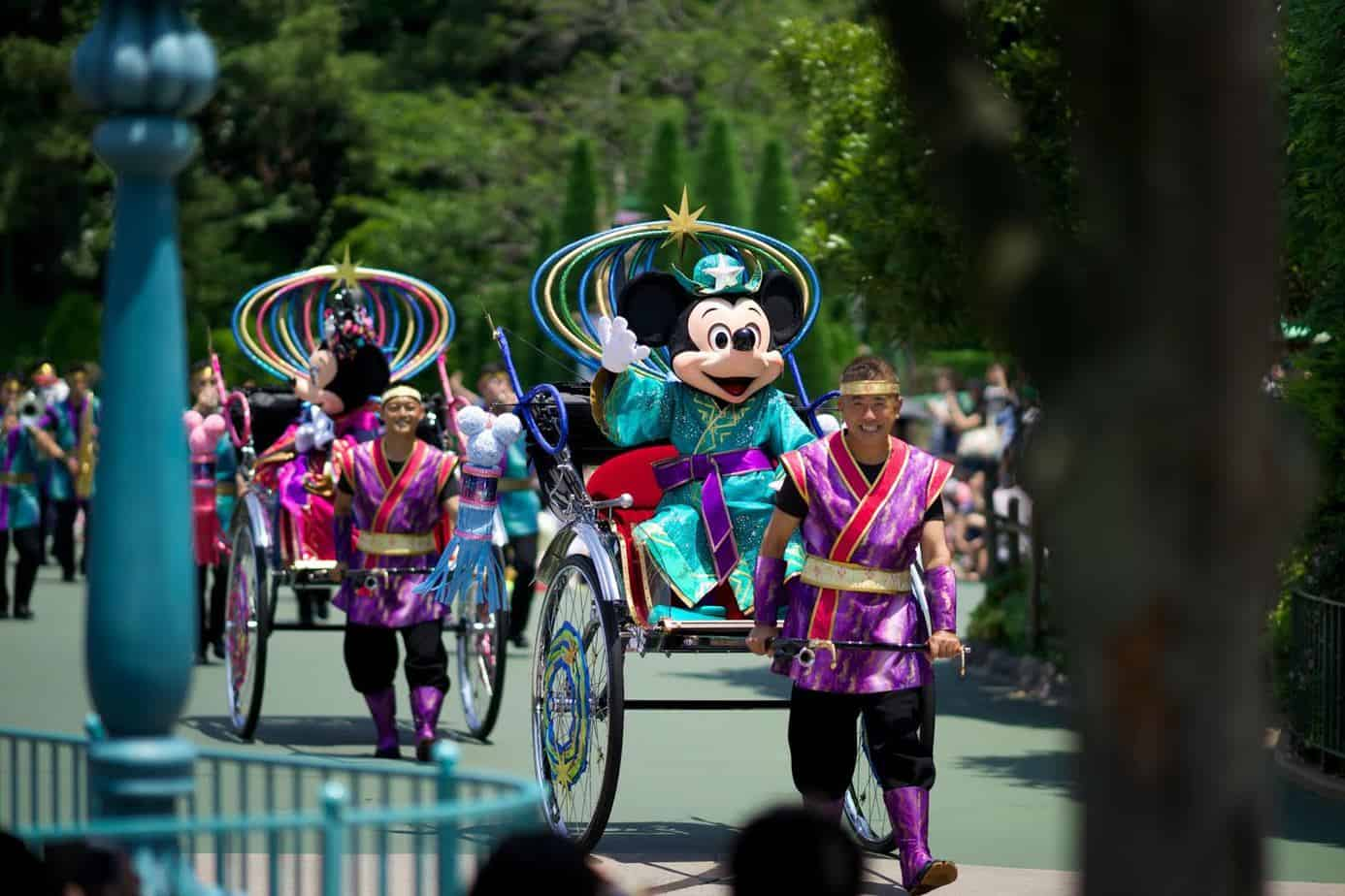 Mickey and Minnie Greeting Tanabata Days 2015 Tokyo Disneyland