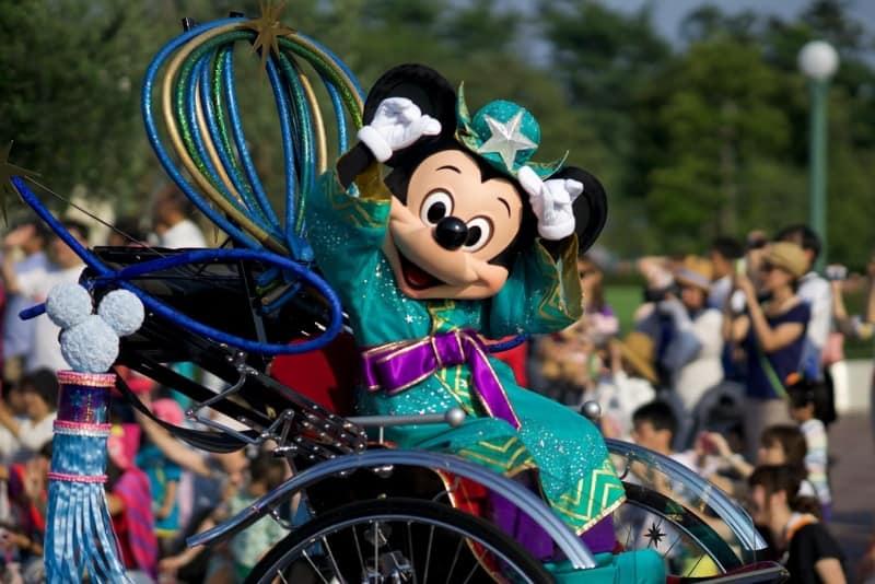 Mickey Greeting Tanabata Days 2015 Tokyo Disneyland