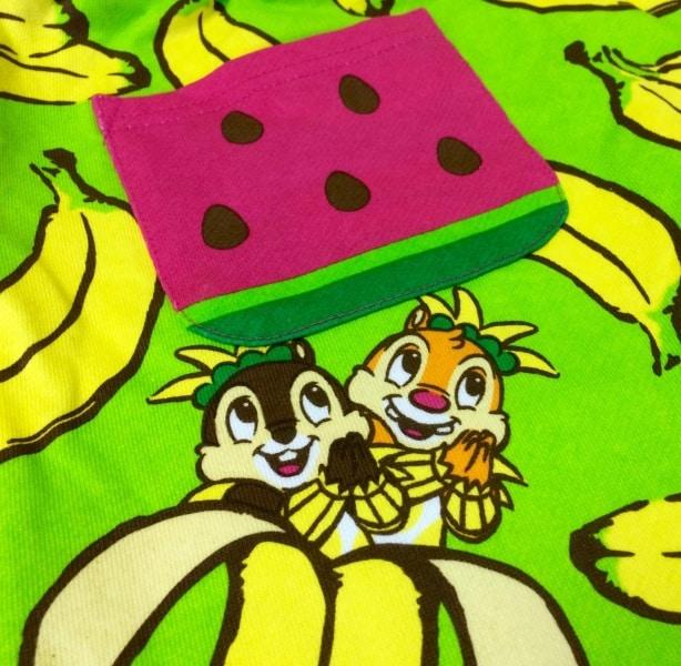 Chip N Dale Banana Shorts Tokyo DisneySea 2015
